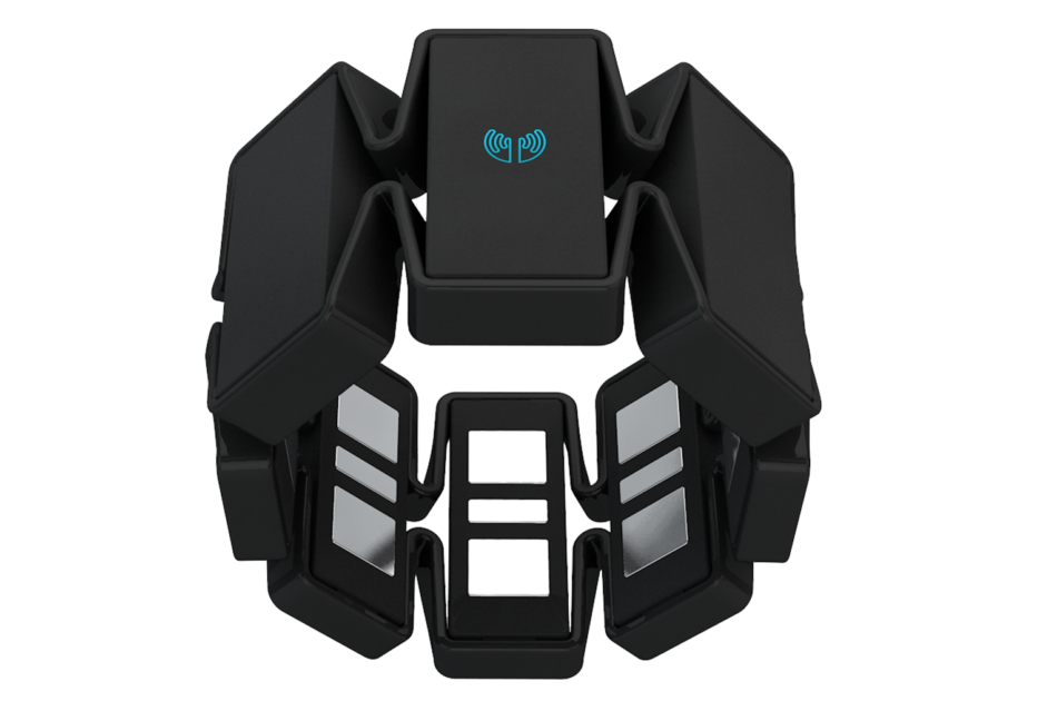 A Myo armband, a gesture control device