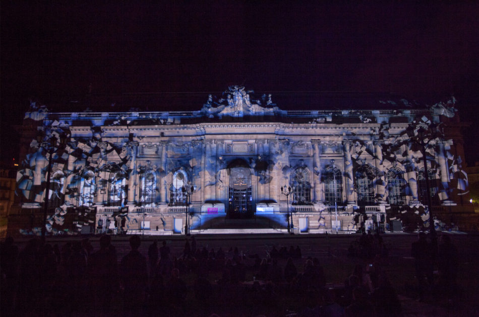 3D mapping Evolució Mapping Festival