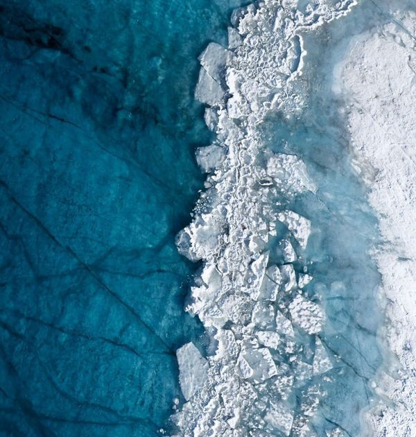 Melting Greenland Ice Sheet